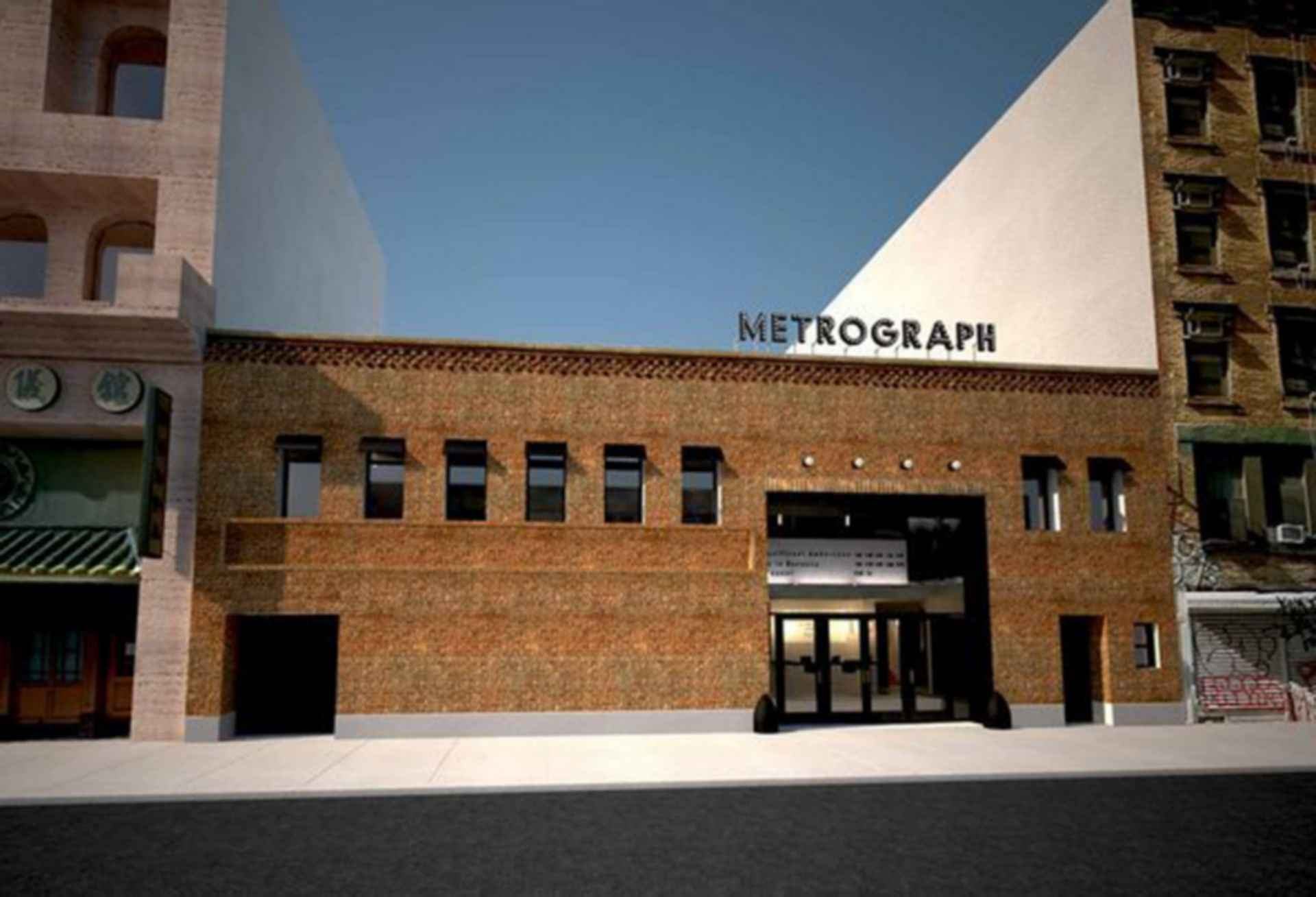 Metrograph Indie Cinema - street view facade