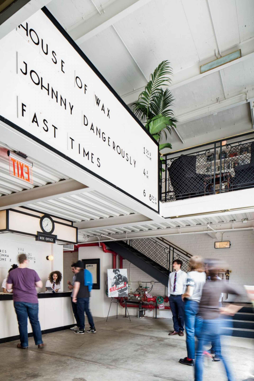 Metrograph Indie Cinema - entrance
