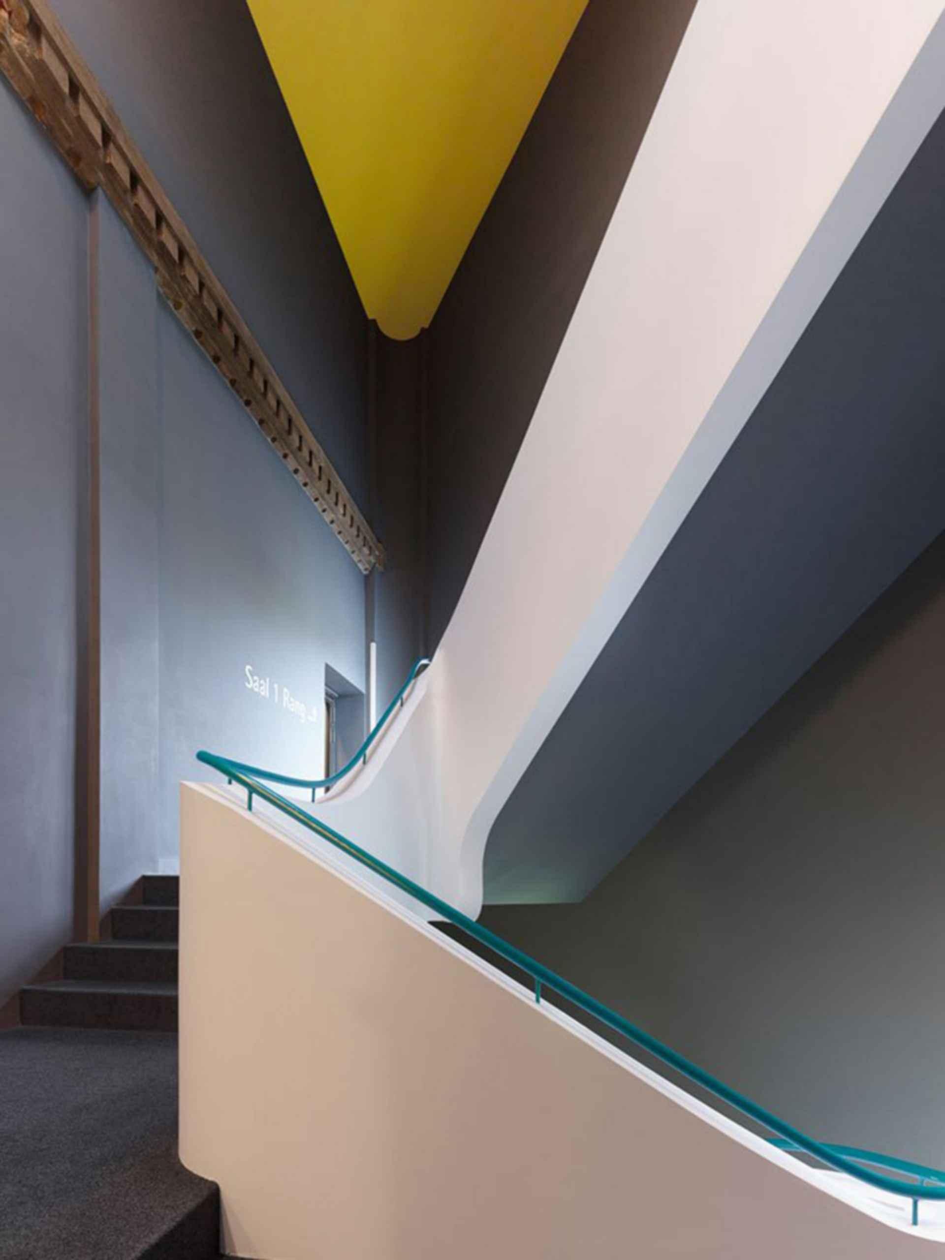 Filmtheater Weltspiegel Cottbus - stairs