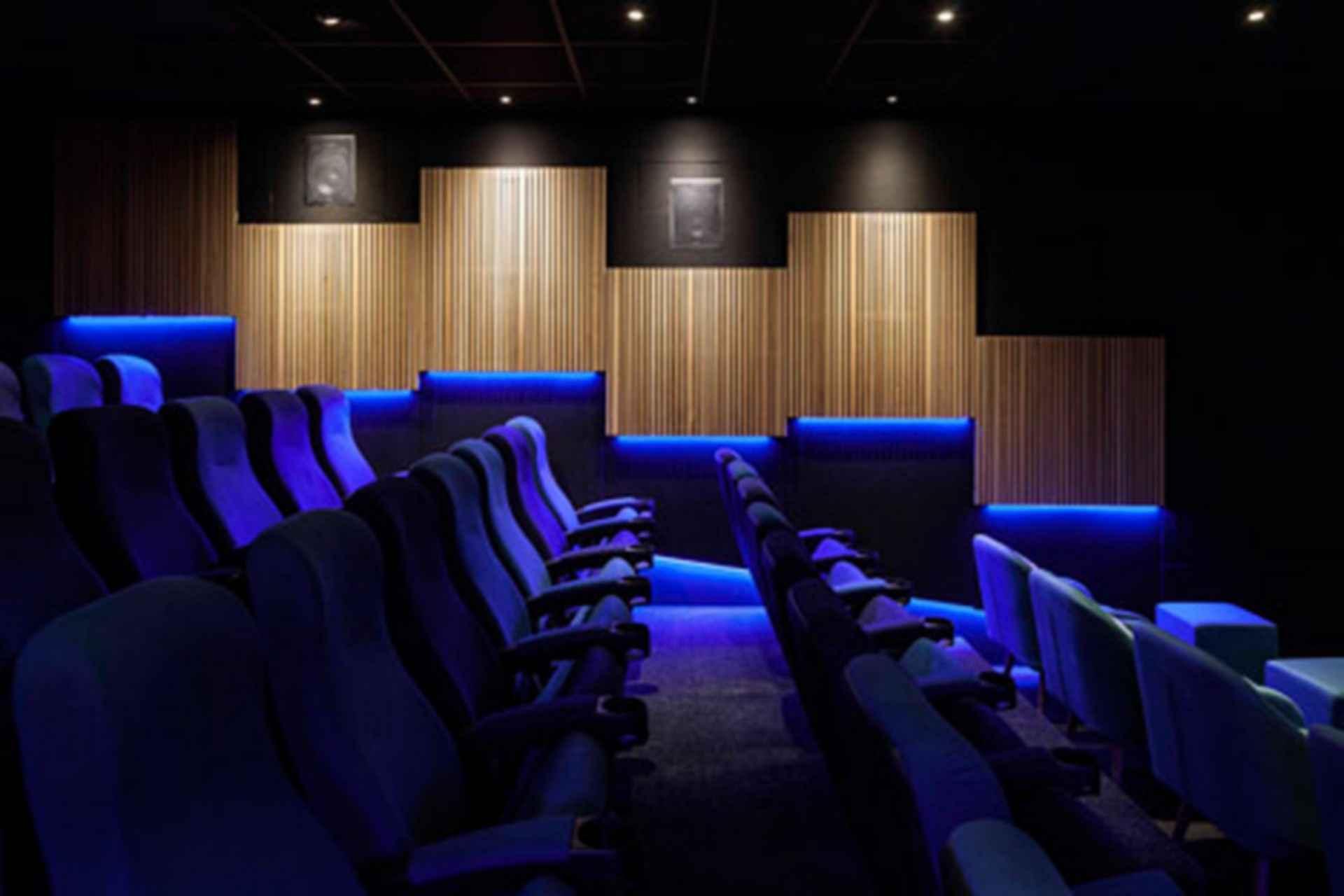 The Kino - blue theater