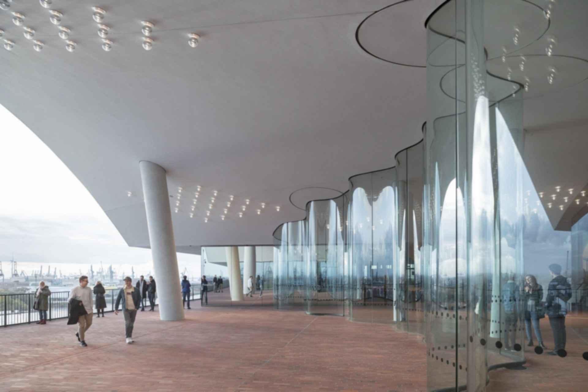 Elbphilharmonie - viewing deck