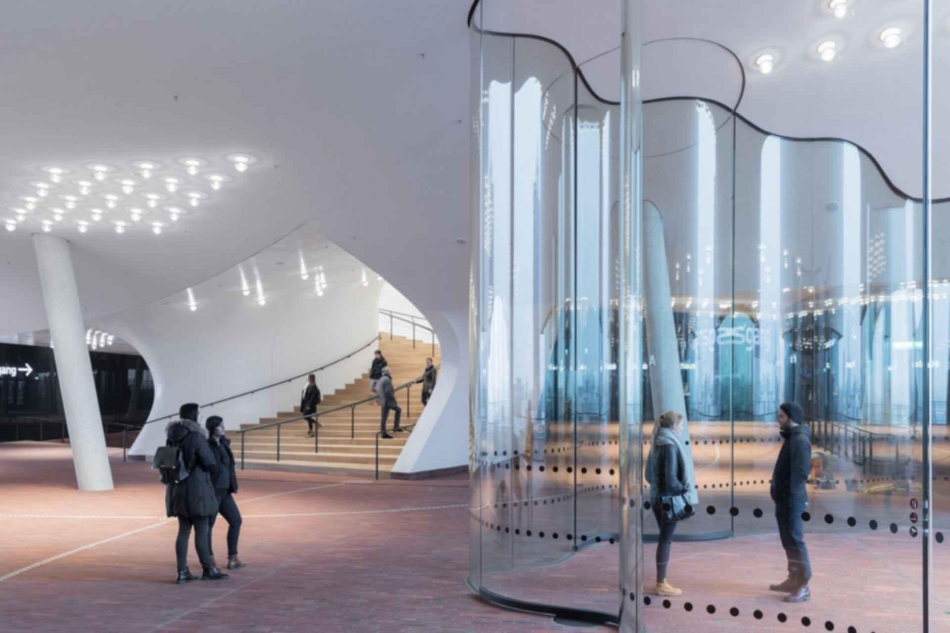 Elbphilharmonie - entrance