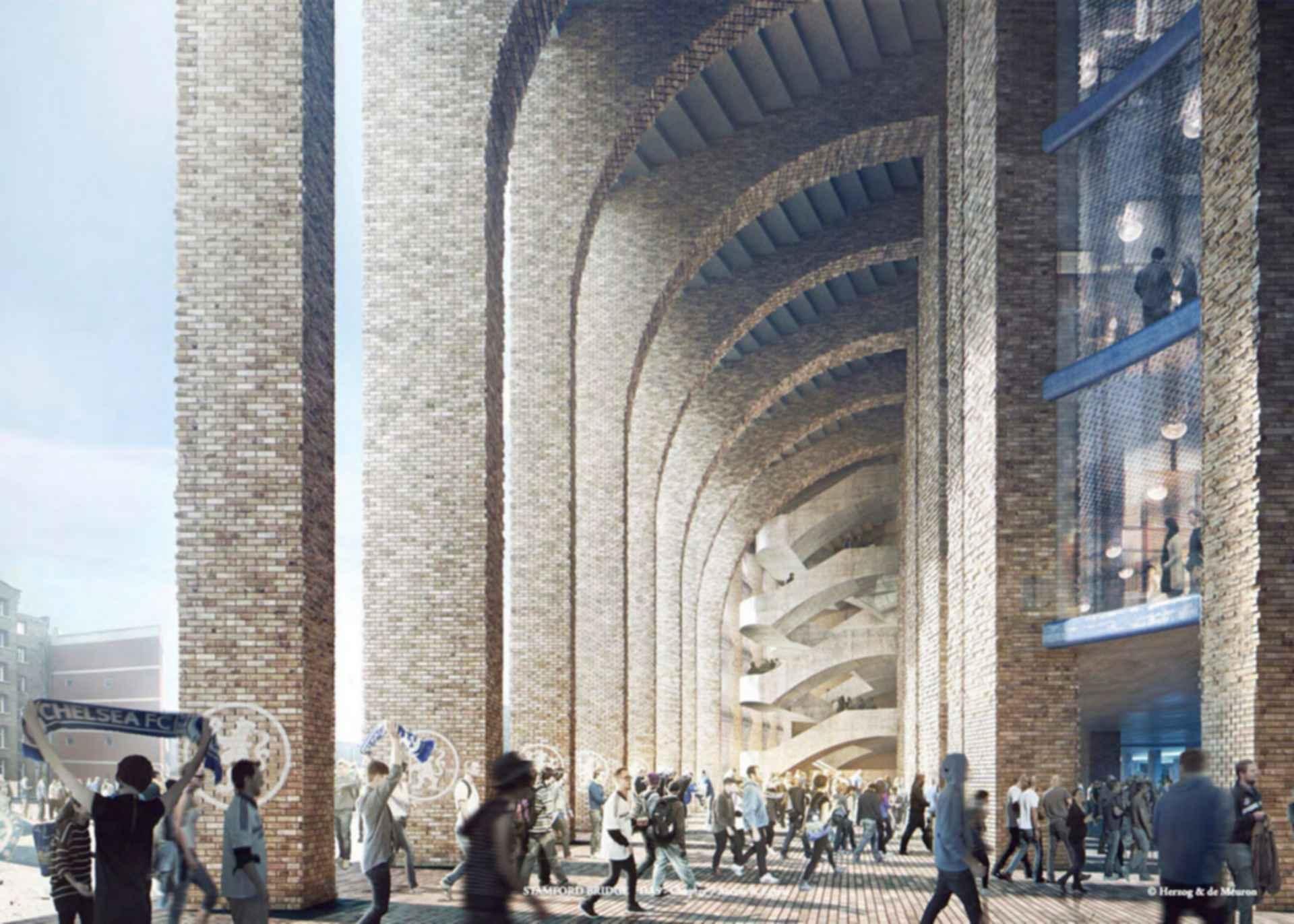 Chelsea FC Stadium - concept design