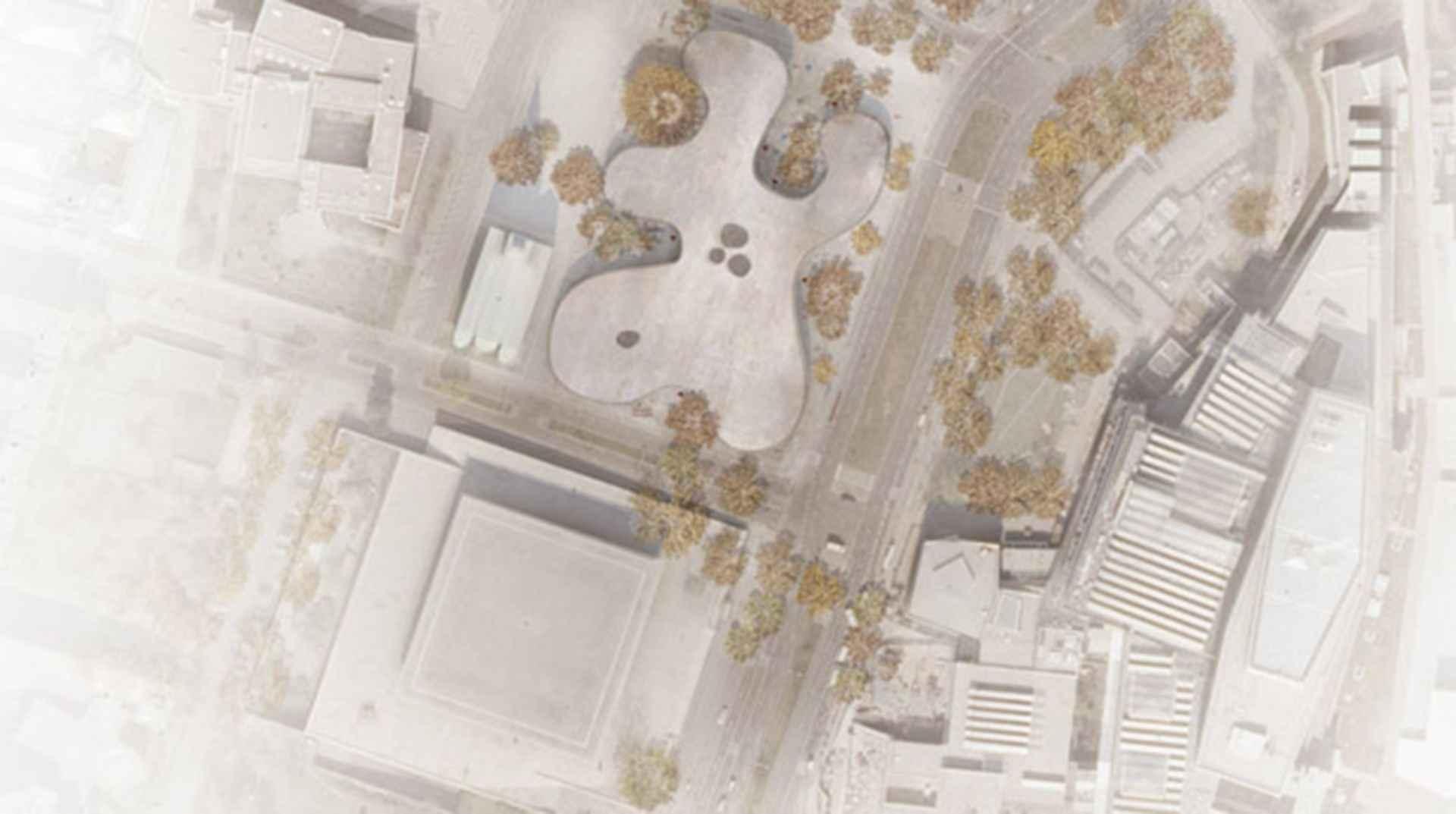 Berlin's New National Gallery - concept design
