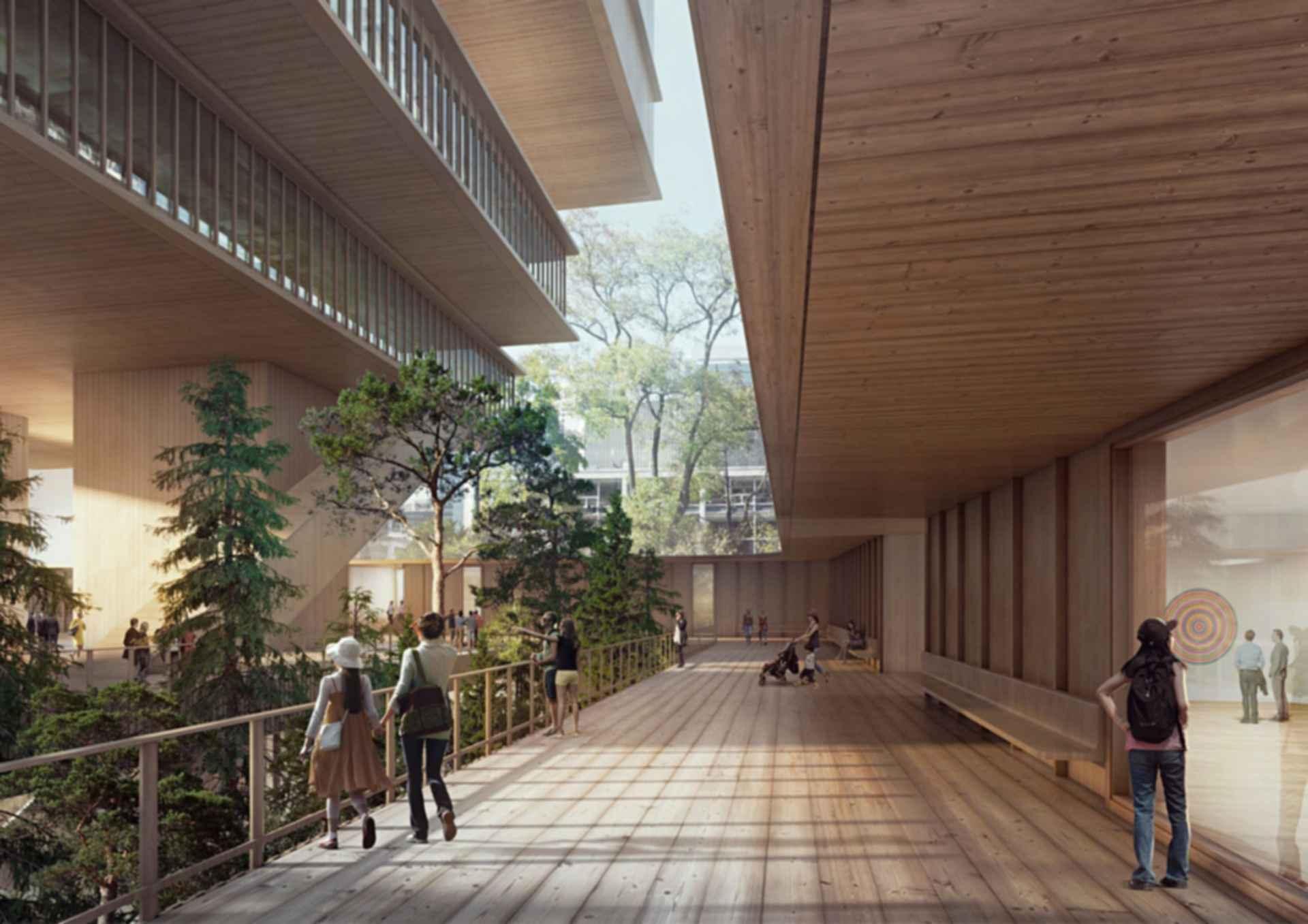 Vancouver Art Gallery - concept design exterior