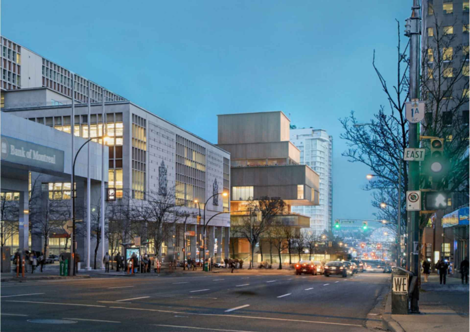 Vancouver Art Gallery - concept design