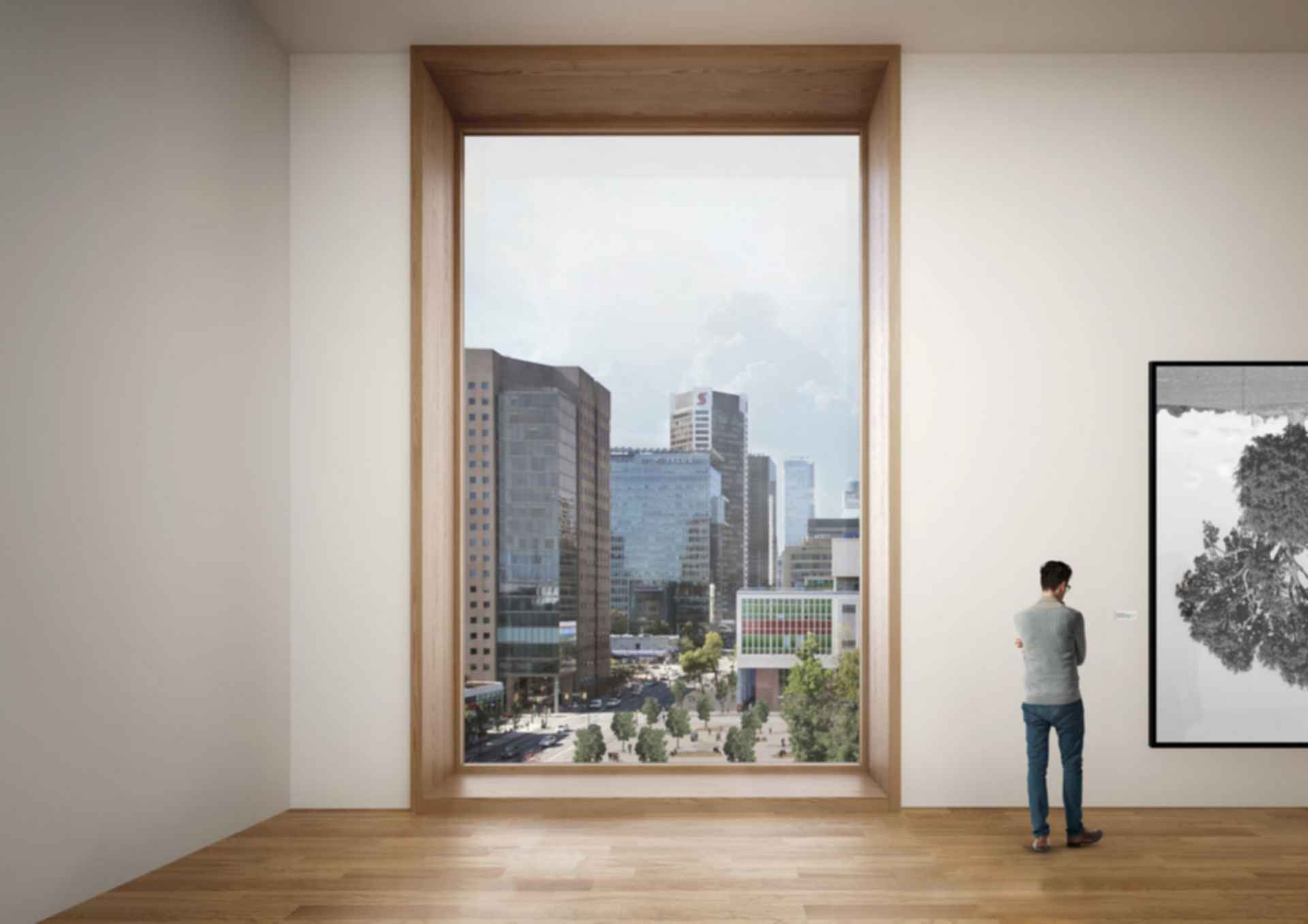Vancouver Art Gallery - concept design window