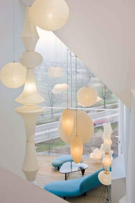 Vitra House - interior lighting