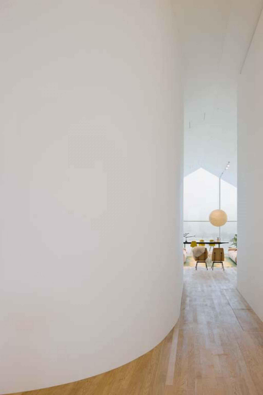 Vitra House - interior