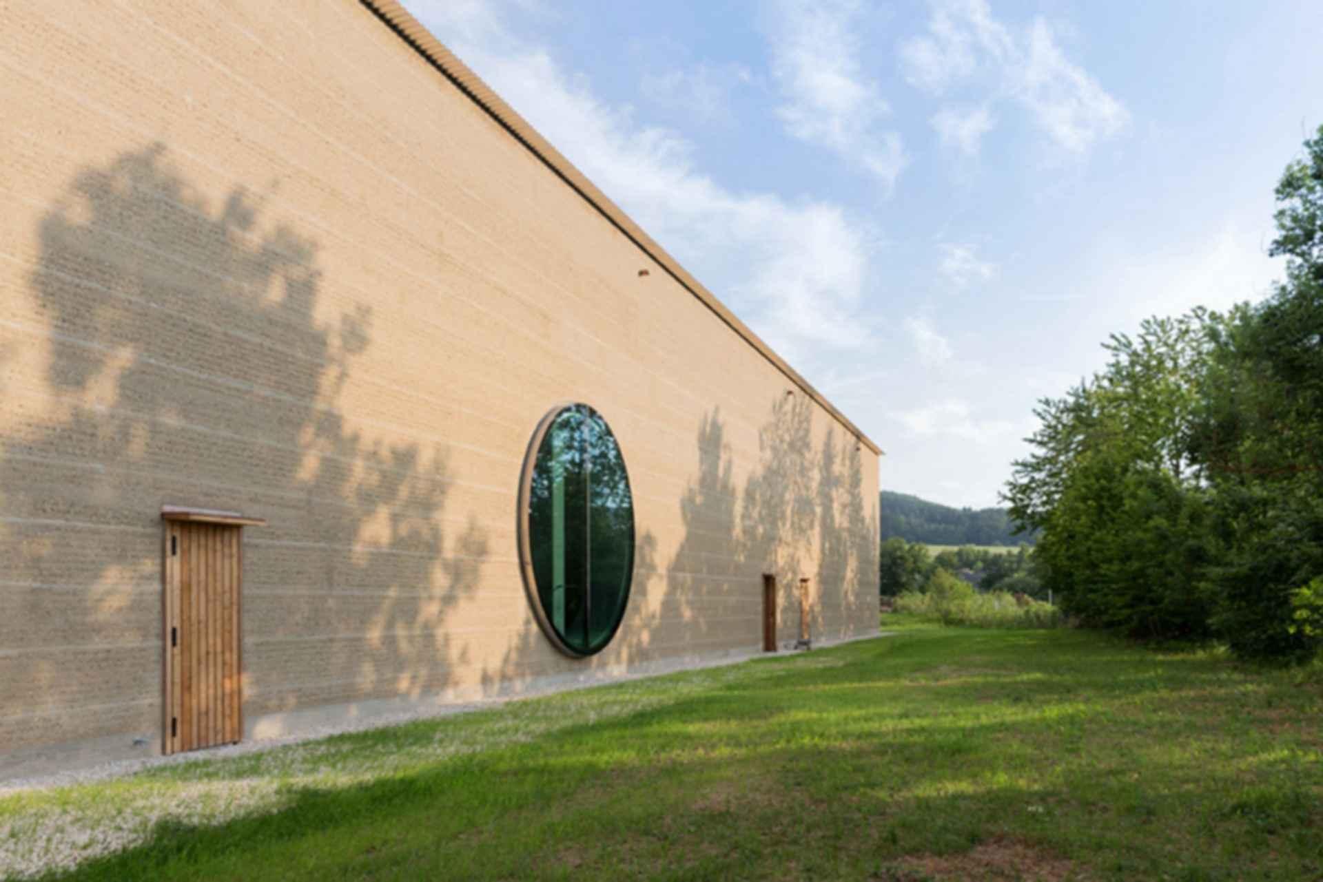 Ricola Krauterzentrum - exterior sideview