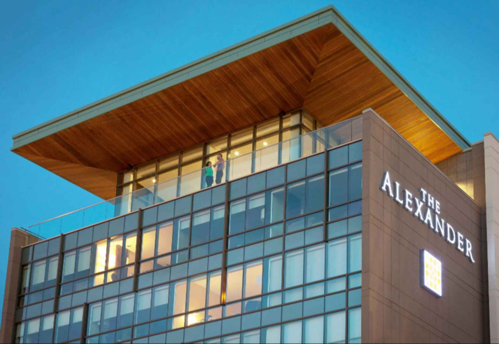 The Alexander - exterior