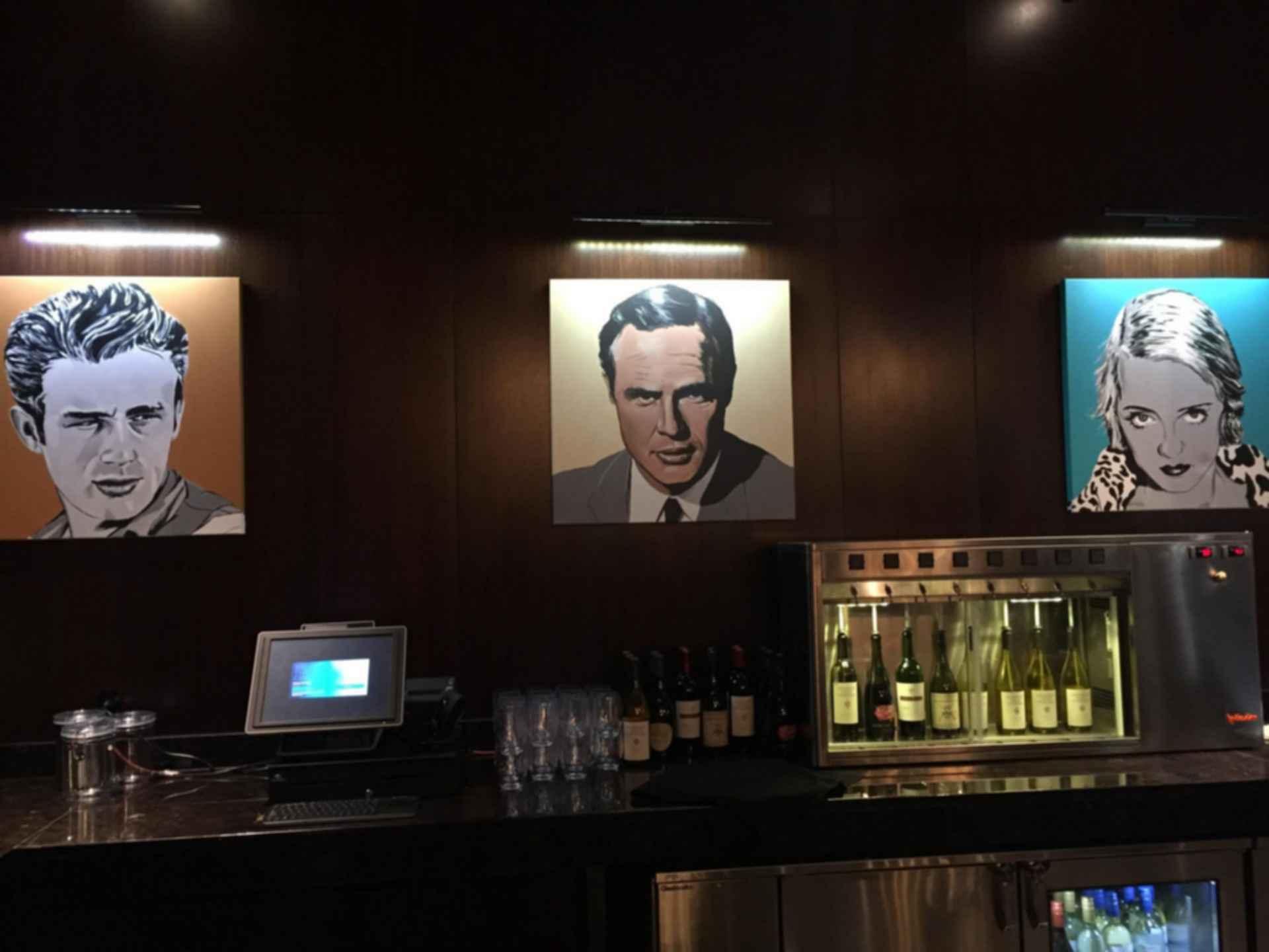 Santikos Embassy Theater - bar countertop