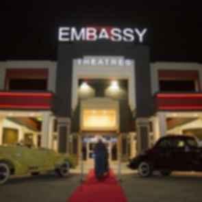 Santikos Embassy Theater - entrance