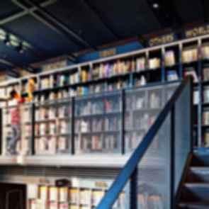 Hyundai Card Music Library Understage - interior library