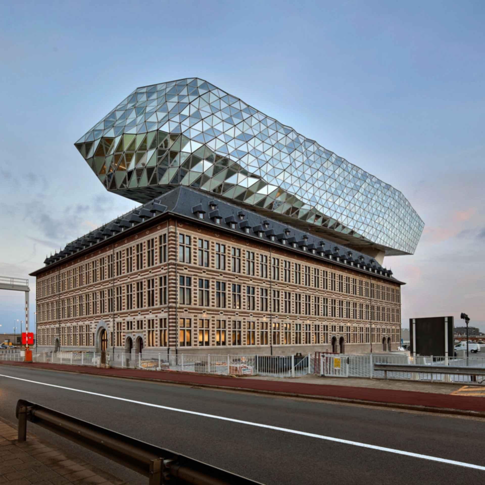 Antwerp Port House - exterior streetview
