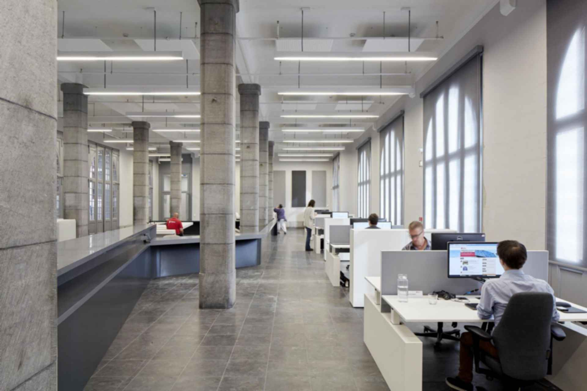 Antwerp Port House - office interior