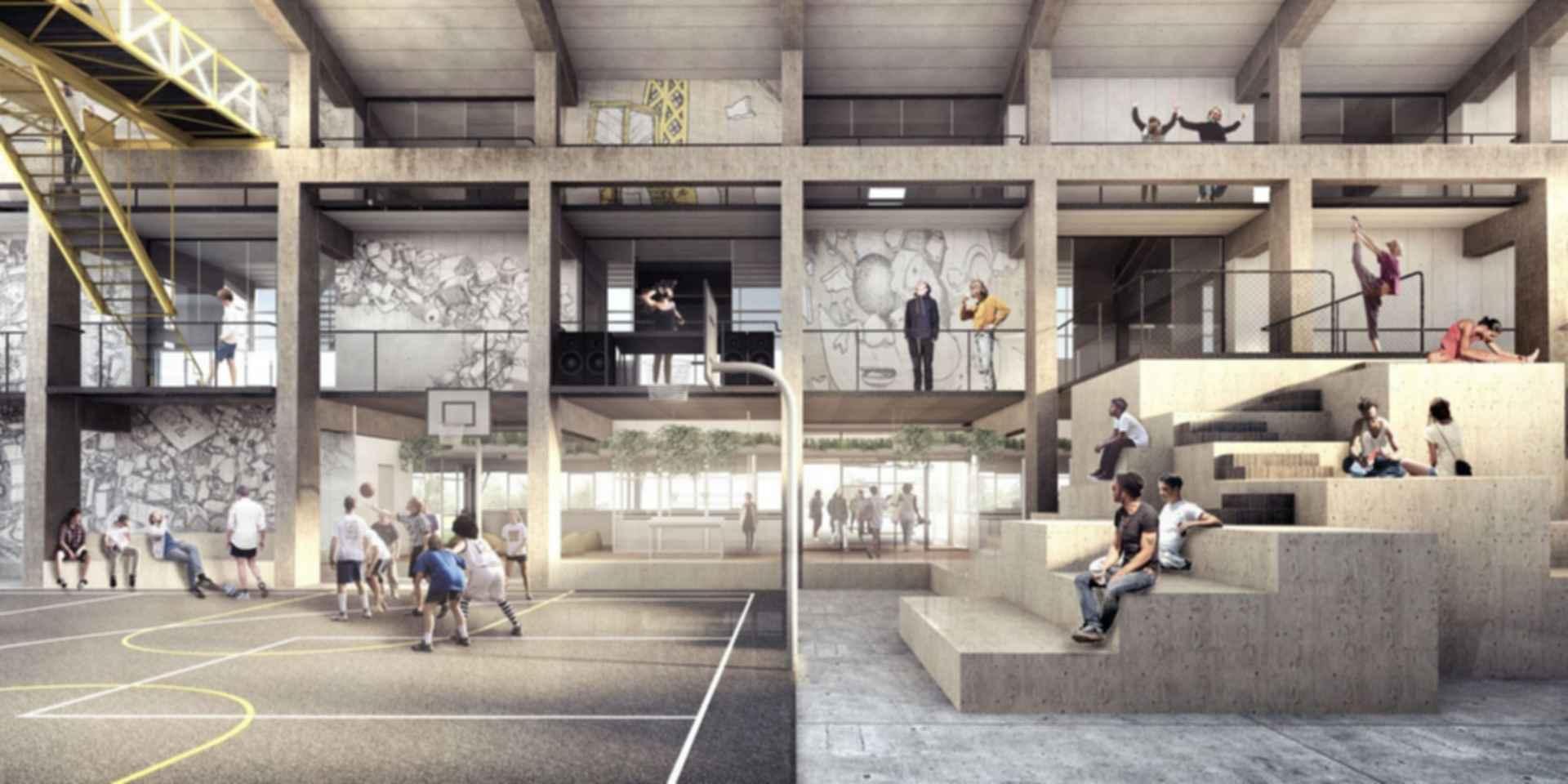 Streetmekka in Viborg - concept design
