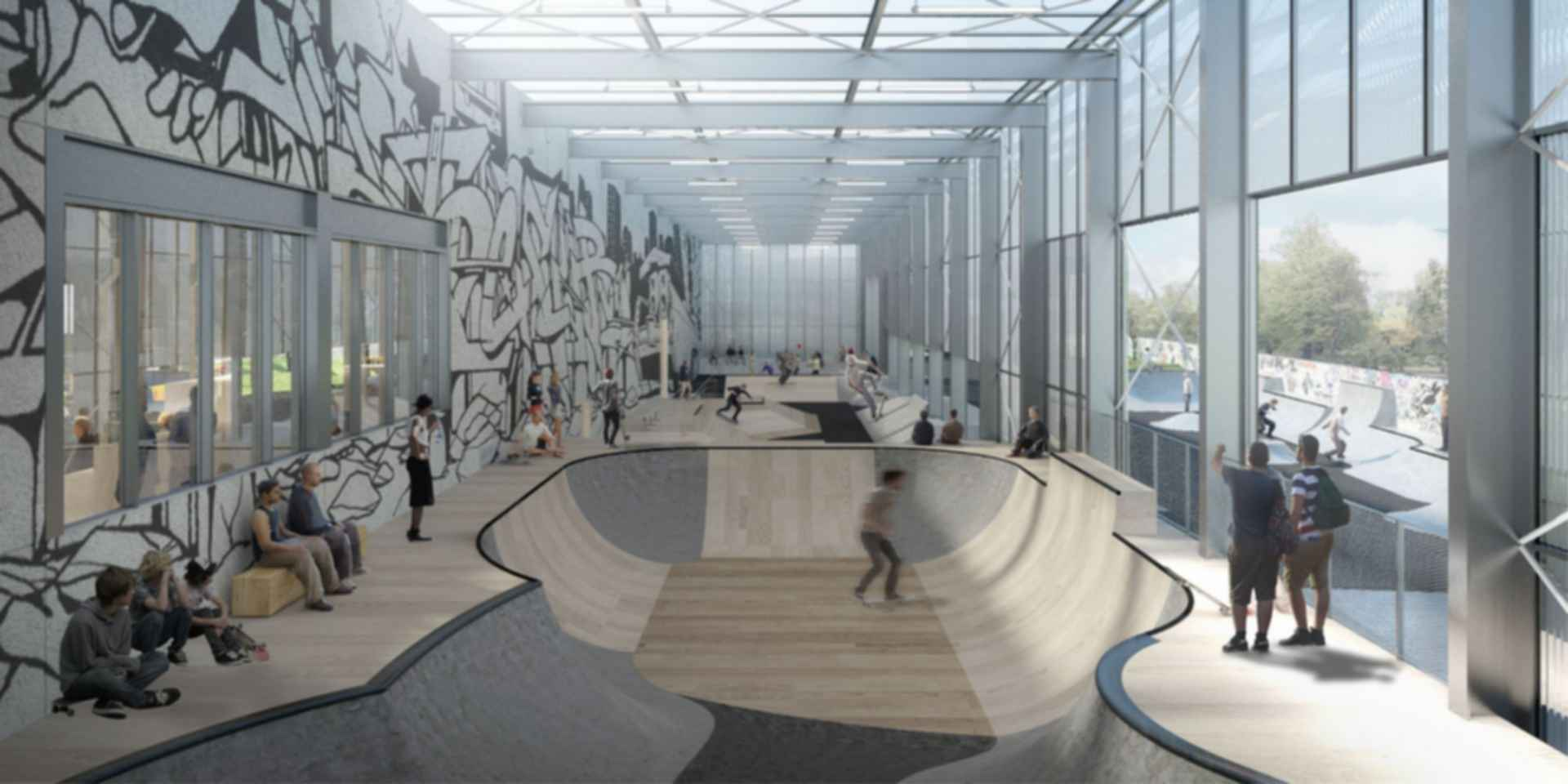 Streetmekka in Viborg - concept design skate area