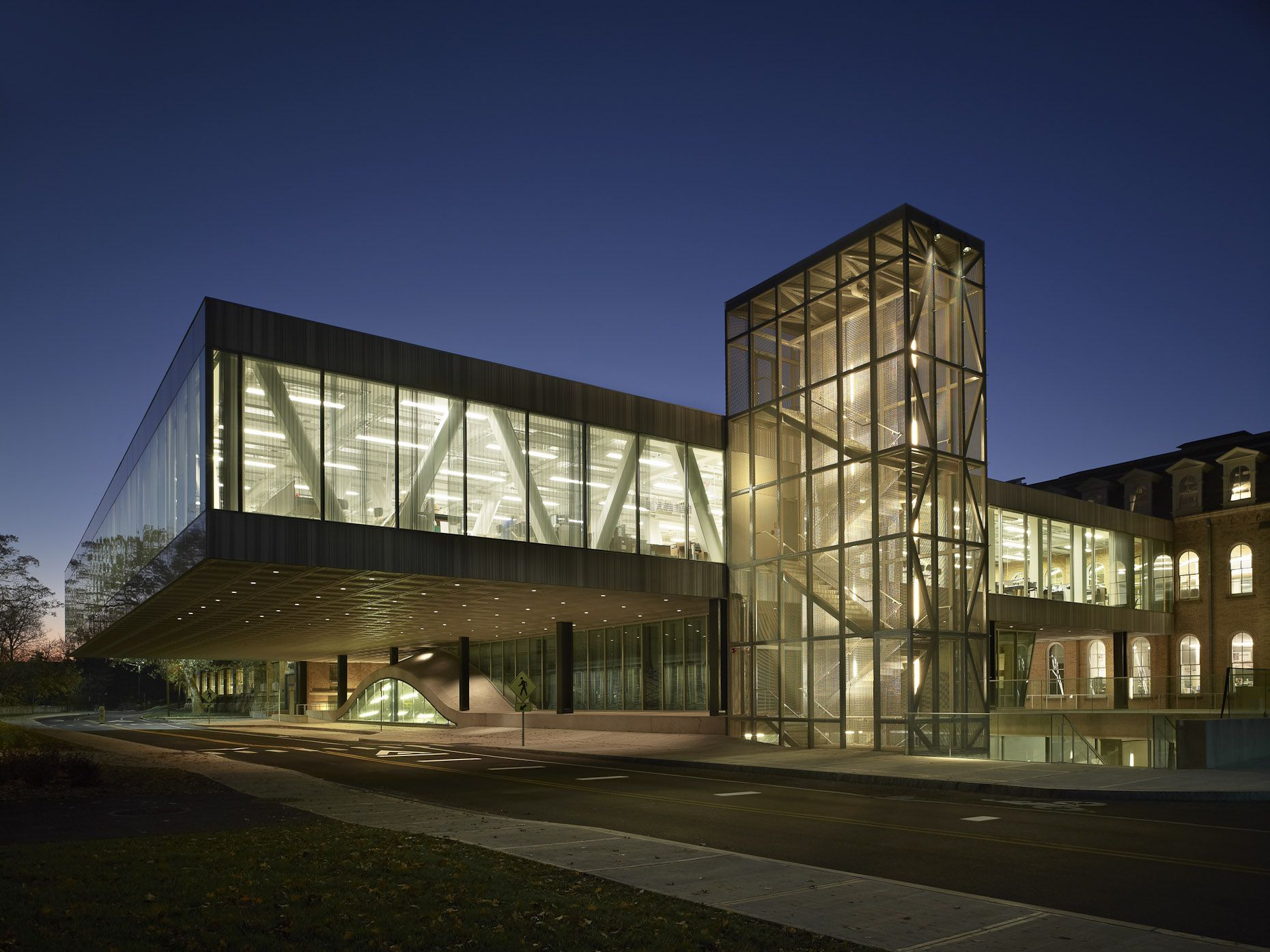 Charming Milstein Hall At Cornell University   Exterior Design Inspirations