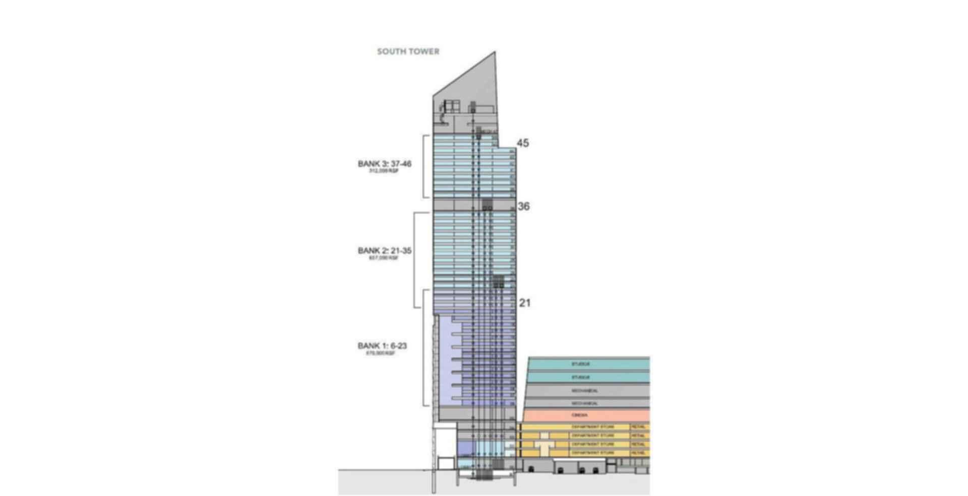 10 Hudson Yards - floor plan