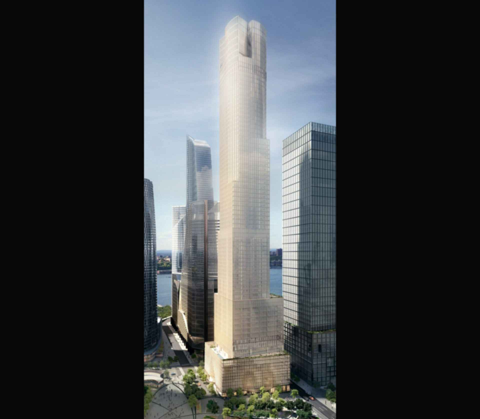 35 Hudson Yards - concept design exterior