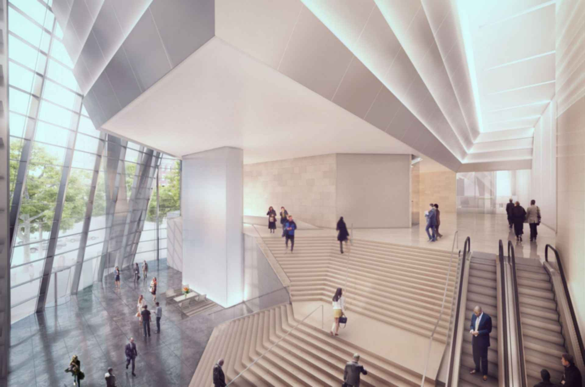 50 Hudson Yards - concept design interior