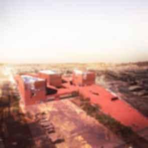 Thapar University Extension - concept design exterior
