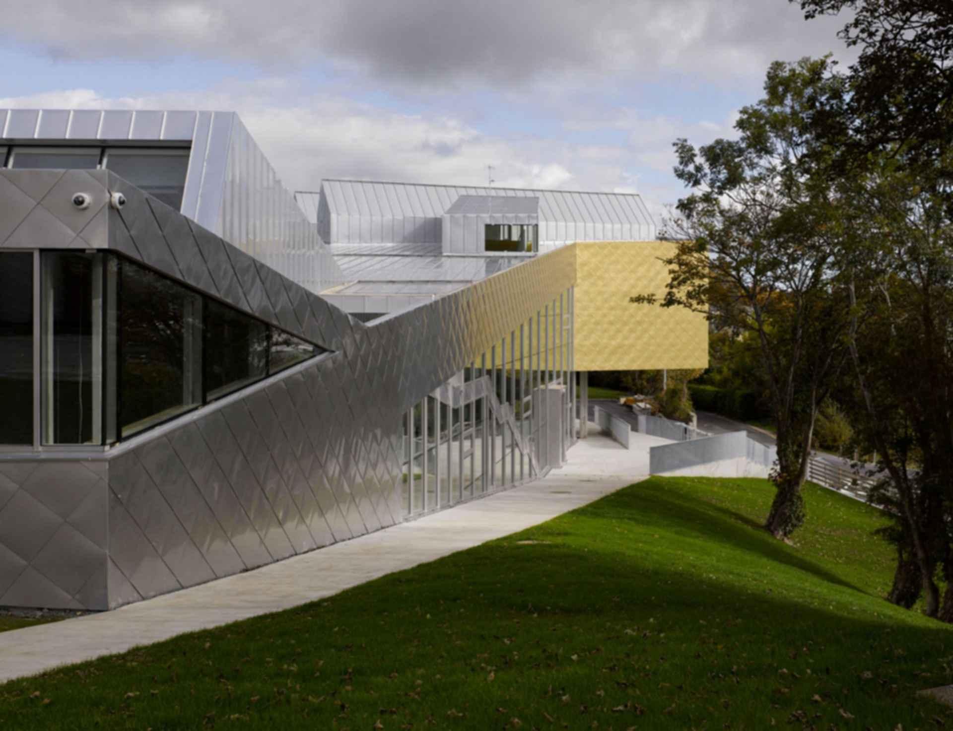 Regional Cultural Center - side profile