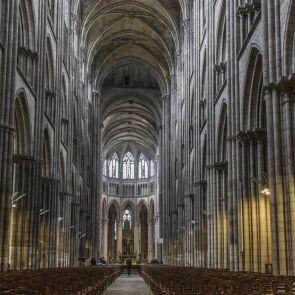 Normandy Church - interior