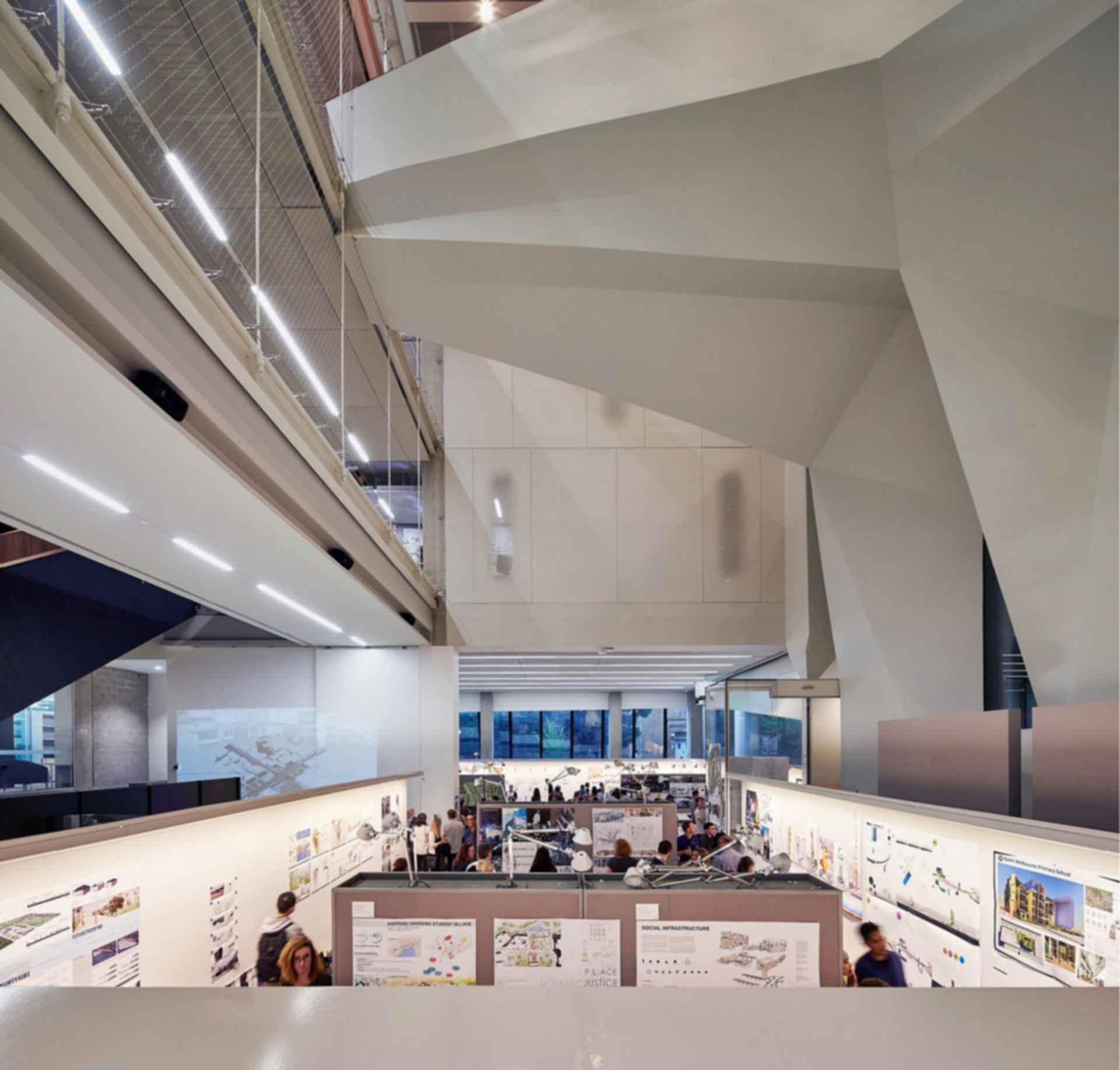 Melbourne School of Design - University of Melbourne - Interior