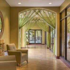 Hotel spa foyer