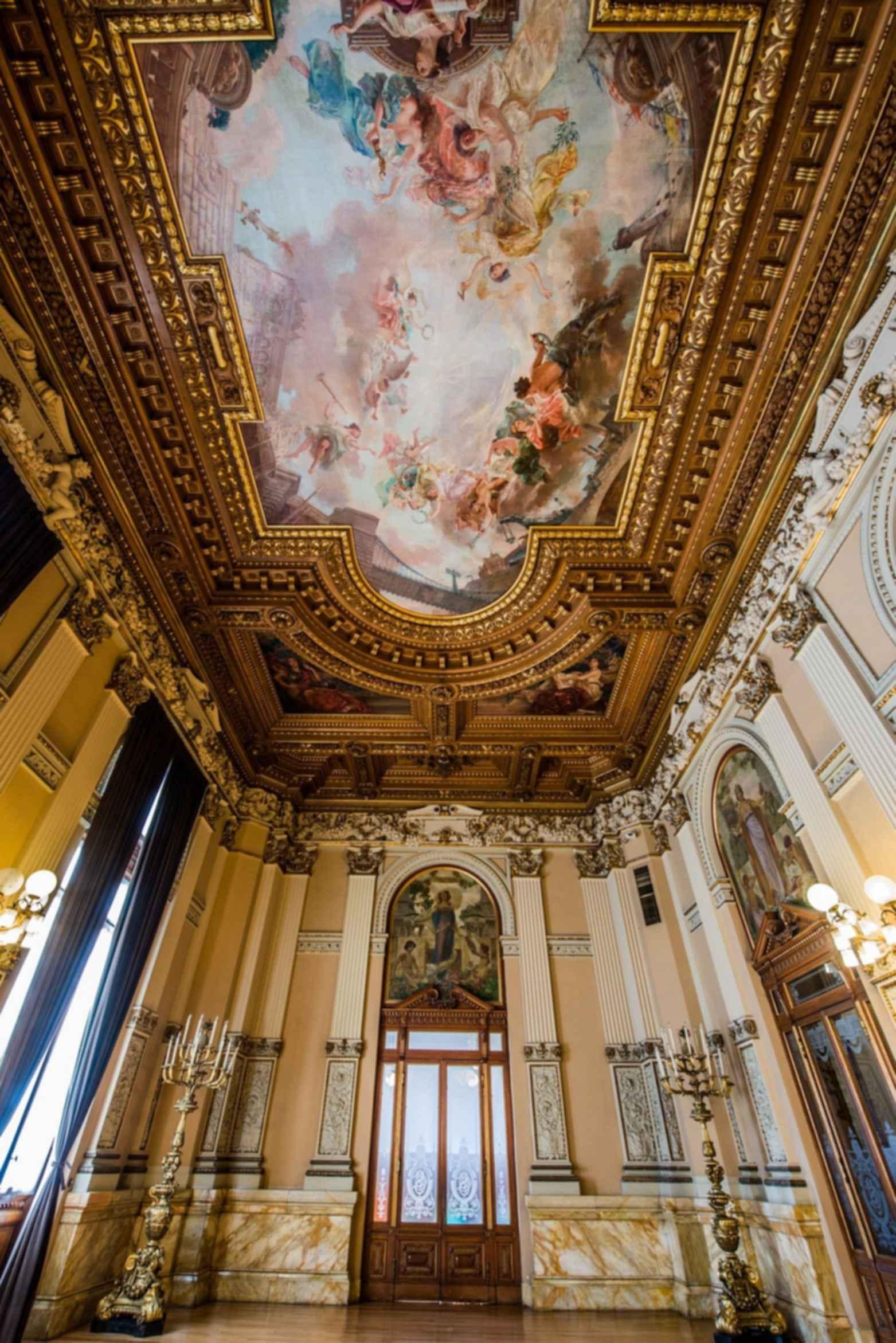 Museum Architecture - interior room