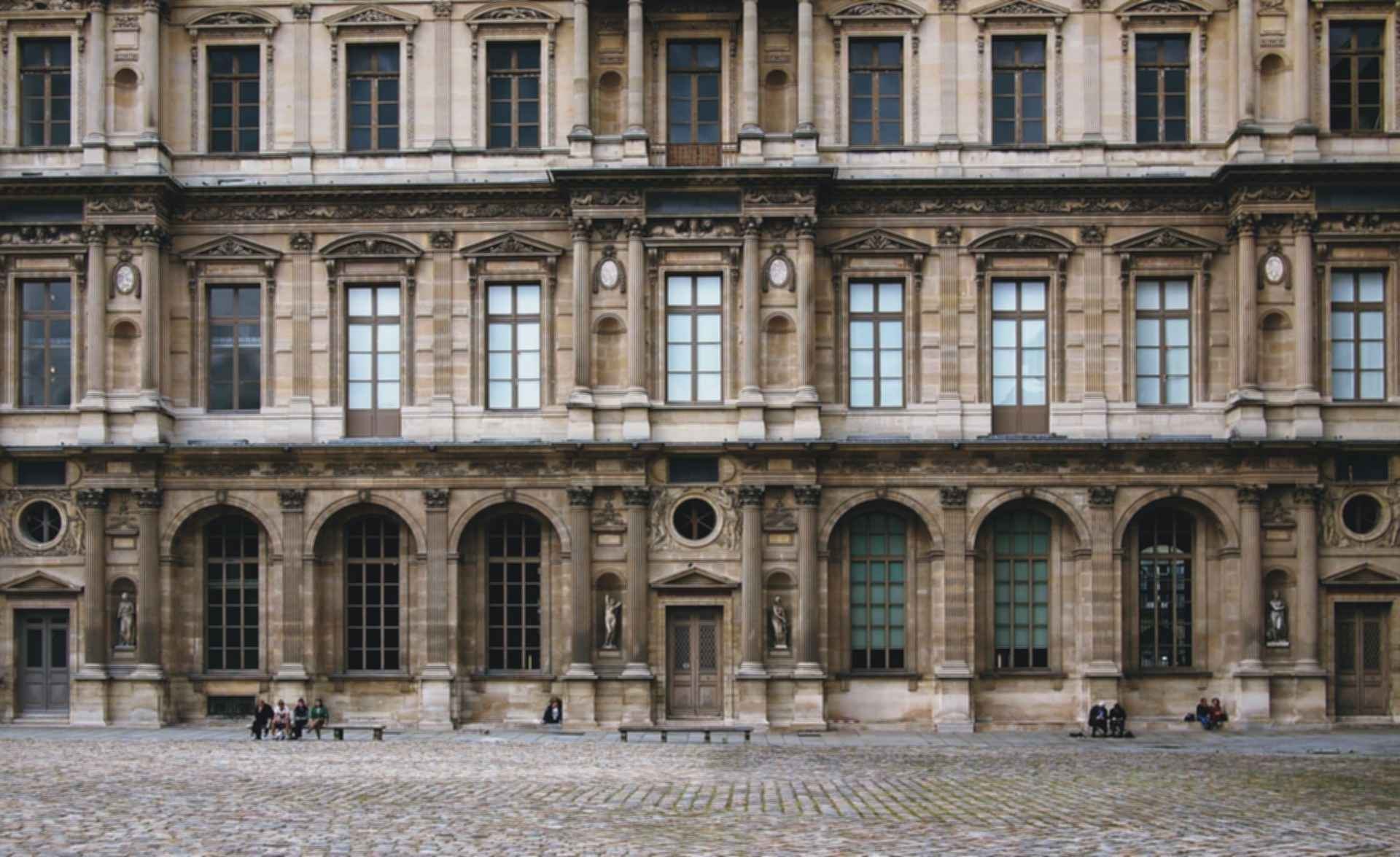 Louvre Palace Facade