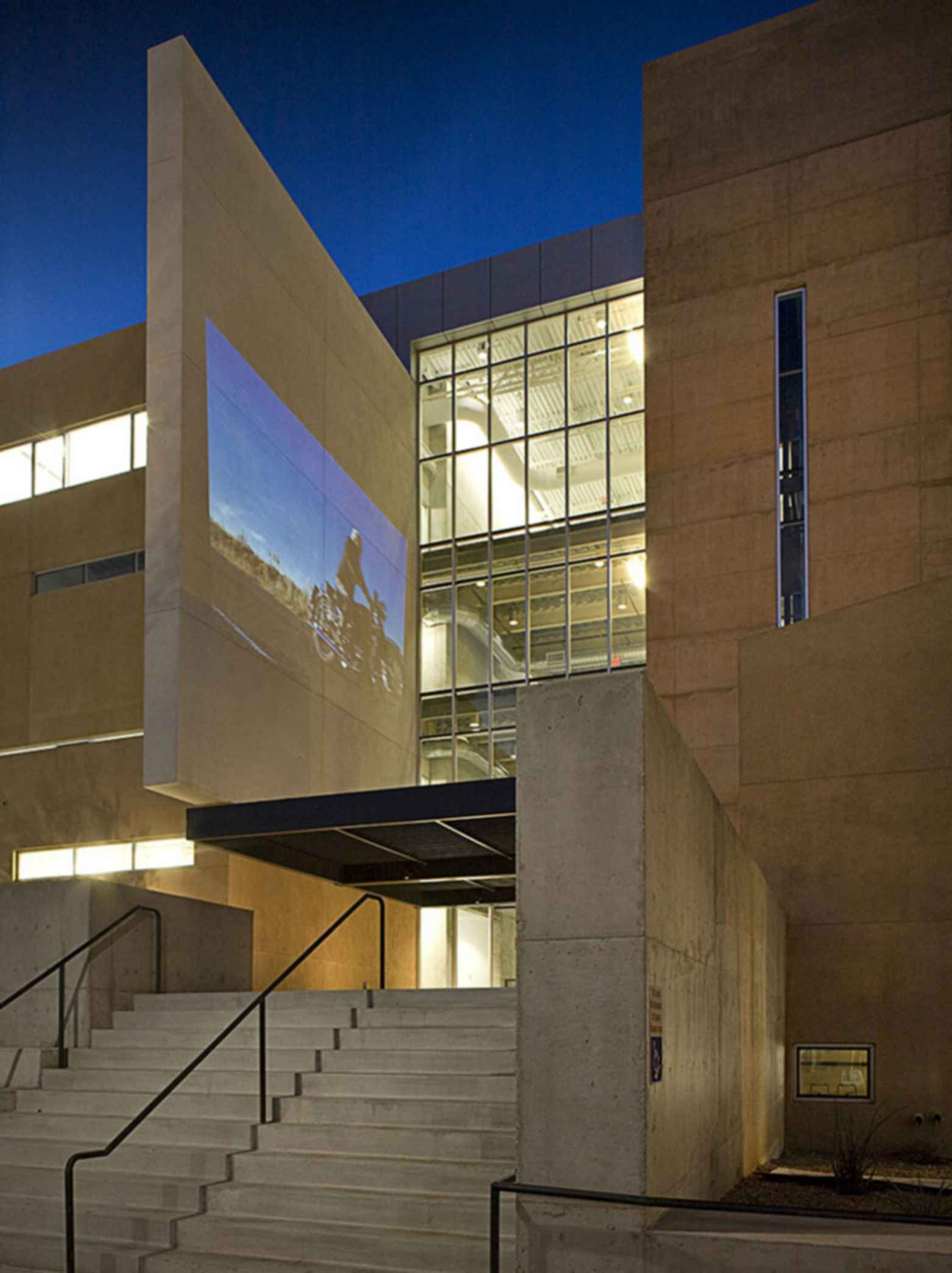 University of New Mexico School of Architecture and Planning - Exterior/Entrance