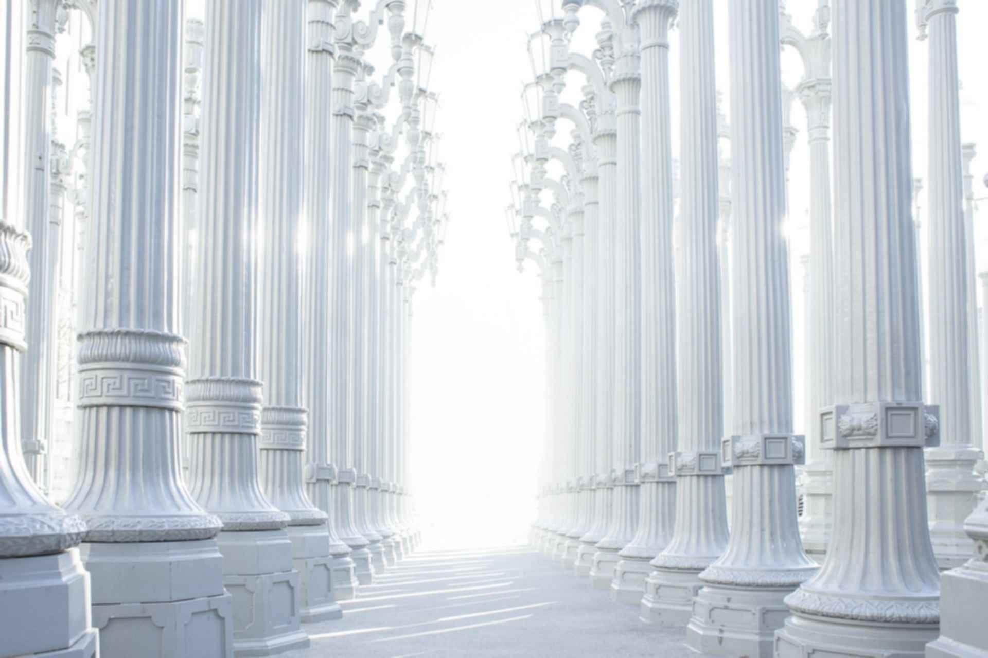 Ancient Greek Architecture - columns