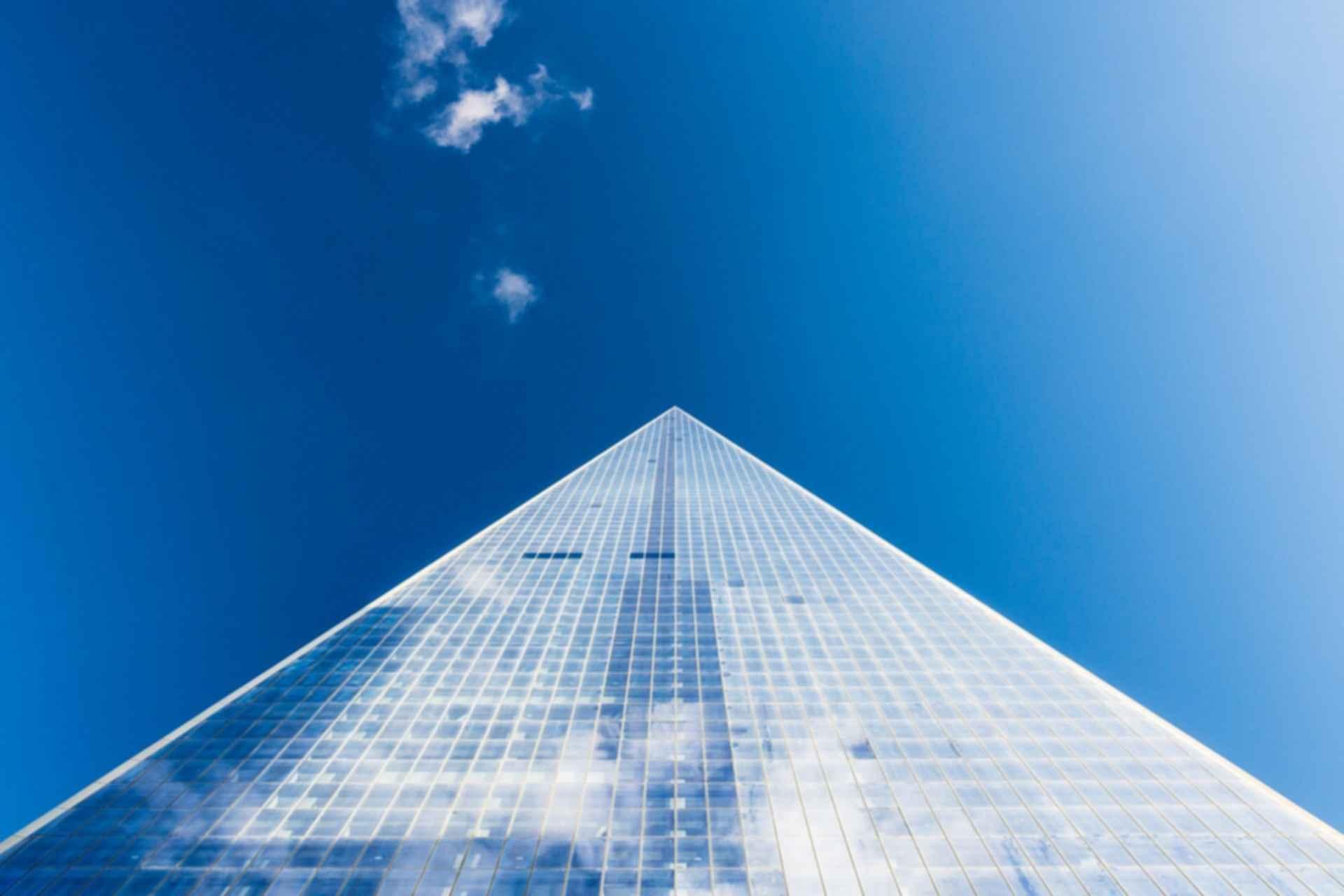 Pyramid skyscraper