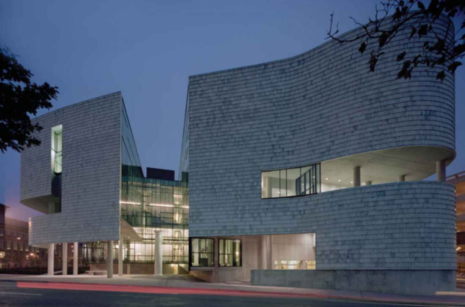Architecture Exterior: Ohio State University, Austin E. Knowlton School Of