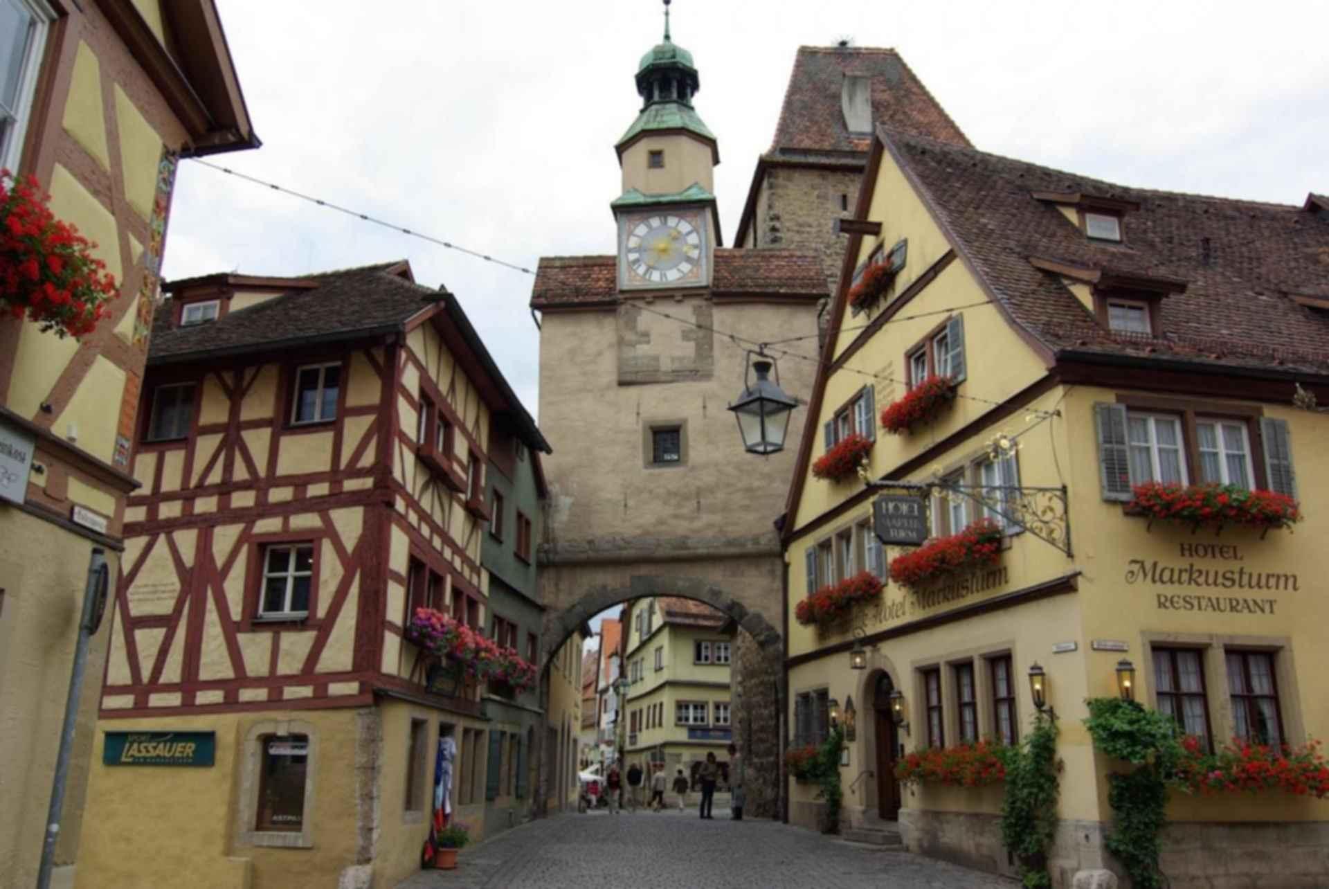 German renaissance town house