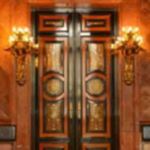 Hamburg Town Hall - doors
