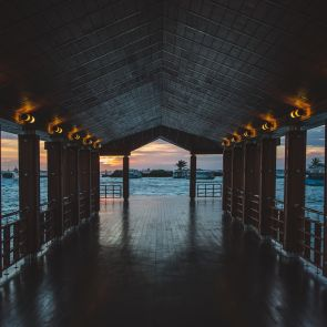 Open air hallway