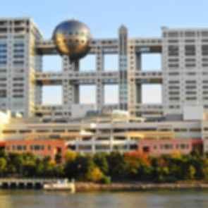 Fuji Television Building - Exterior