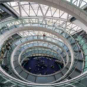 London City Hall - interior helical staircase