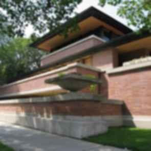 Robie House - exterior streetview