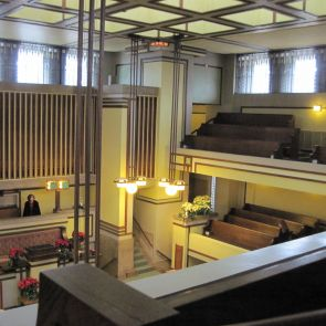 Unity Temple - interior