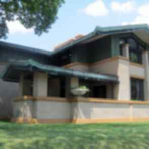 Dana Thomas House - exterior