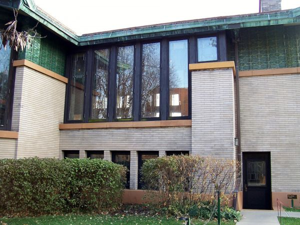 Dana Thomas House Exterior Windows Modlar Com