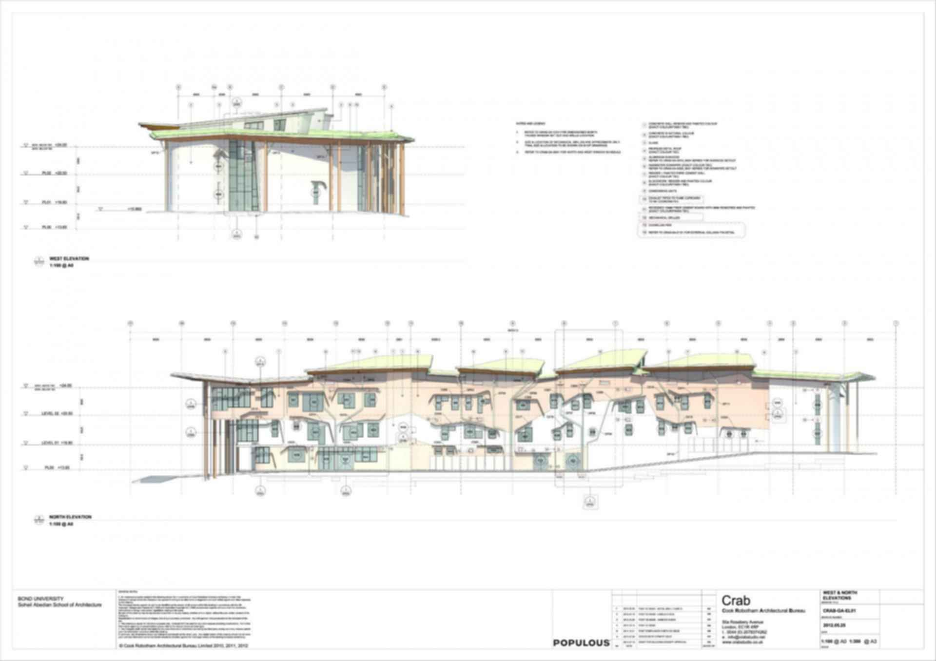 Abedian School of Architecture - Site plan