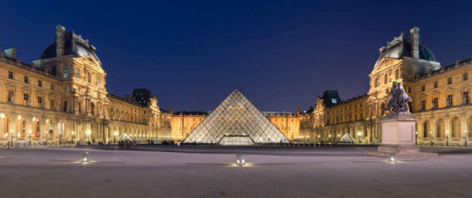 The Louvre Paris - Pyramid Exterior
