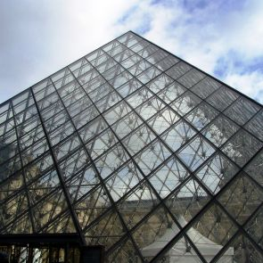 Louvre Pyramid - structure