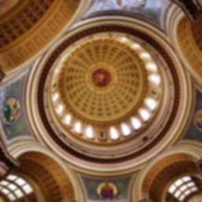 Wisconsin State Capitol - dome interior